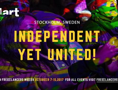 SMart är värd för European Freelancers Week Stockholm 7-15 oktober