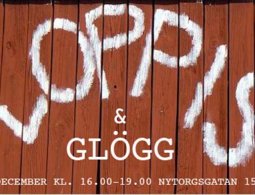 Loppis & Glögg hos Intercult och SMart 14 dec