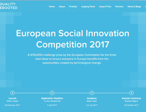 SMart nominated for the European Social Innovation award !
